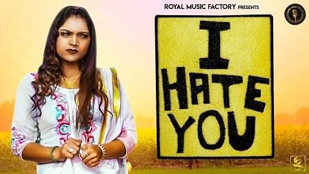 I Hate You Lyrics – Deepak Pasina
