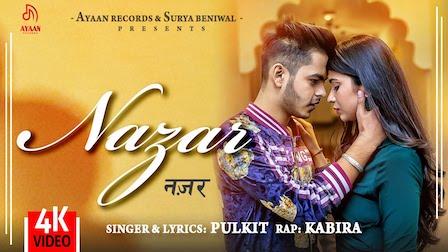 Nazar Lyrics – Pulkit Arora