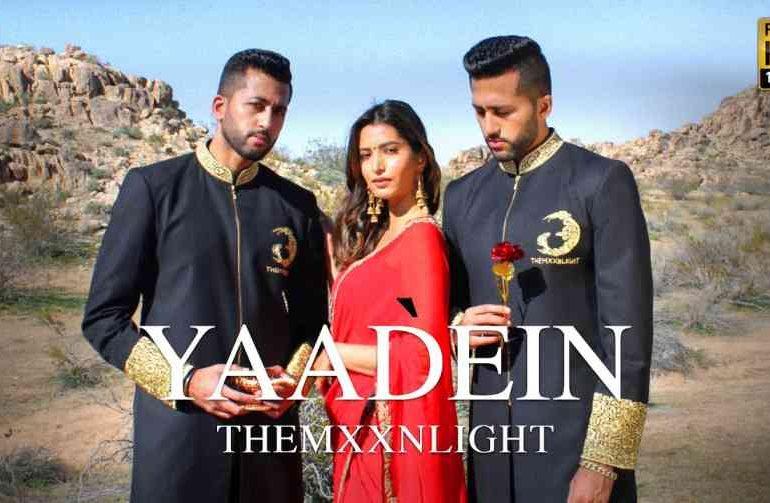 Yaadein Lyrics – THEMXXNLIGHT