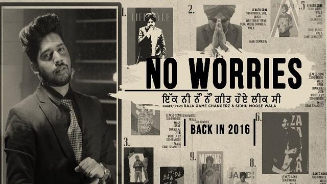 no worries sidhu moose wala